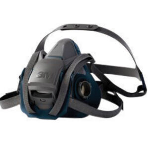 3M™ 6500 Series Rugged Comfort Reusable Respirator With 4 Point Harness And Bayonet Connection