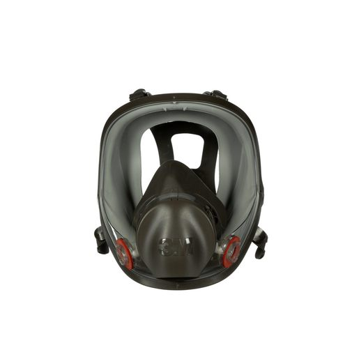 3M™ Large Thermoplastic Elastomer Full Face 6000 Series Reusable Respirator With 4 Point Harness And Bayonet Connection
