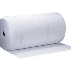 """3M™ 38"""" X 144' White Polypropylene And Polyester High Capacity Sorbent Roll"""