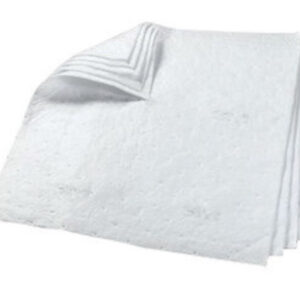 """3M™ 34"""" X 38"""" White Polypropylene And Polyester High Capacity Sorbent Pad"""