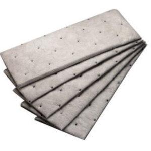 "3M™ 7 1/2"" X 20 1/2"" Light Gray Polypropylene And Polyester High Capacity Maintenance Sorbent Pad"
