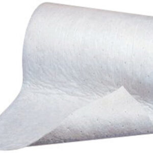 "3M™ 38"" X 150' Light Gray Polypropylene And Polyester High Capacity Maintenance Sorbent Roll"