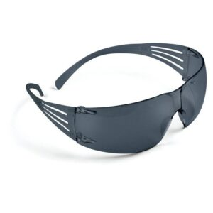 3M™ SecureFit™ Self-Adjusting Safety Glasses With Gray Polycarbonate Frame And Gray Polycarbonate Anti-Fog Lens