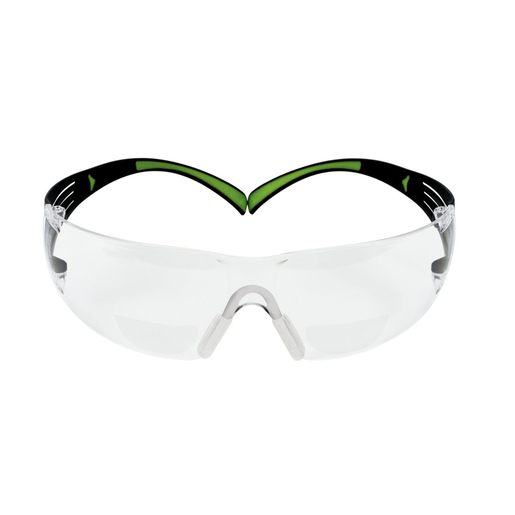 3M™ SercureFit™ 2.5 Diopter Safety Glasses With Clear Frame And Clear Polycrbonate 400 Series Anti-Fog Lens
