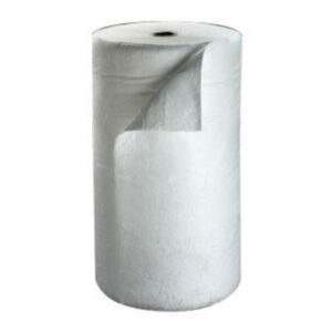 """3M™ 38"""" X 144' White Polypropylene And Polyester Sorbent Roll"""