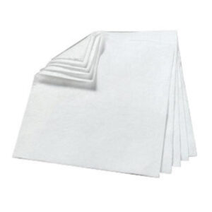 "3M™ 17"" X 19"" White Polypropylene And Polyester Sorbent Pad (200 Per Bale)"