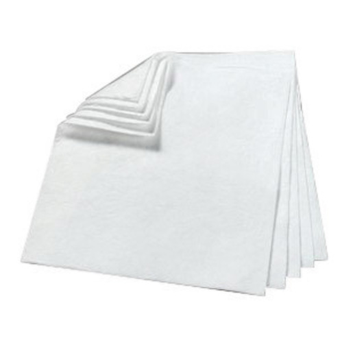 """3M™ 17"""" X 19"""" White Polypropylene And Polyester Sorbent Pad (200 Per Bale)"""