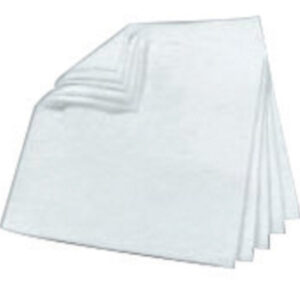 """3M™ 17"""" X 19"""" White Polypropylene And Polyester Sorbent Pad (100 Per Bale)"""