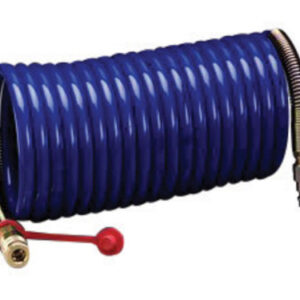 "3M™ 3/8"" X 25' Nylon High Pressure Industrial Interchange Coiled Supplied Air Hose (For Use With 3M™ High Pressure Compressed Air Systems)"