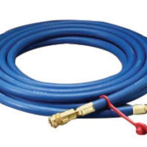 "3M™ 3/8"" X 100' Rubber High Pressure Blue Industrial Interchange Straight Supplied Air Hose"