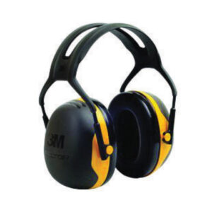 3M™ Peltor™ Black And Yellow Model X2A/37271(AAD) Over-The-Head Hearing Conservation Earmuffs