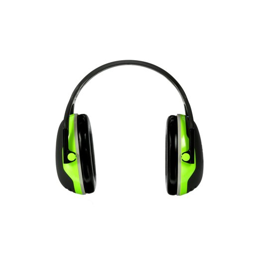 3M™ Peltor™ Black And Chartreuse Model X4A/37273(AAD) Over-The-Head Hearing Conservation Earmuffs
