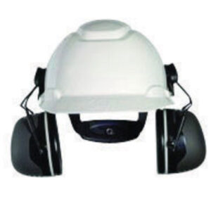 3M™ Peltor™ Black Model X5P3E/37279(AAD) Cap Mount Hearing Conservation Earmuffs