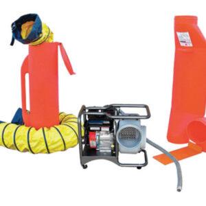 "Air Systems® 8"" 3000 cfm 4 hp Gasoline Blower Ventilation Kit (Includes Model SVB-G8 Blower)"