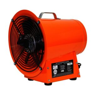 """Air Systems® Saddle Vent® 8"""" 1395 cfm 1/3 hp 115 VAC Steel Lightweight Axial Fan"""