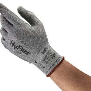 Ansell Size 10 HyFlex 15 Gauge INTERCEPT™ Technology Cut Resistant Gloves With Polyurethane Coated Palm