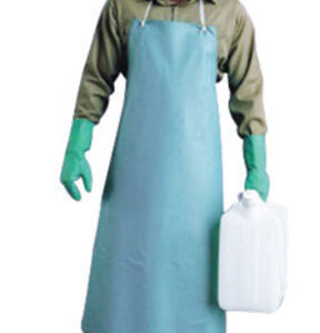 "Ansell 33"" X 44"" Green CPP™ 18 mil Vinyl Heavy Duty Chemical Protection Apron With Stomach Patch"