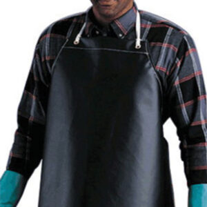 "Ansell 35"" X 45"" Black CPP™ 18 oz Hycar Heavy Weight Chemical Protection Apron"