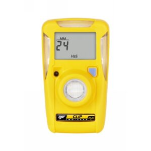 BW Technologies by Honeywell Yellow BW Clip™ Portable Hydrogen Sulfide Monitor