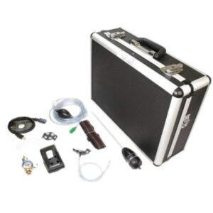 BW Technologies by Honeywell Deluxe Confined Space Kit For Use With GasAlertMicroClip XT Multi-Gas Detector (Includes Manual Aspirator Kit, IR Connectivity Kit, Calibration Cap With 1' Hose, 0.5 LPM Regulator, Sampling Probe, Leather Carrying Case And Auxiliary Filter)