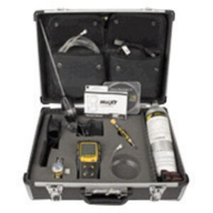 BW Technologies by Honeywell Confined Space Kit Carrying Case With Foam Insert For Use With GasAlertQuattro Multi-Gas Detector
