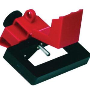 Brady® Red Impact Modified Glass Filled Nylon And Polypropylene Oversized Breaker Lockout