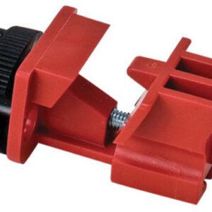 Brady® Red Glass Filled Nylon Tie Bar Universal Multi-Pole Breaker Lockout