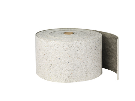 """Brady® 14 1/4"""" X 150' SPC™ Re-Form™ Plus Gray Heavy Weight Sorbent Roll, Perforated Every 19"""""""