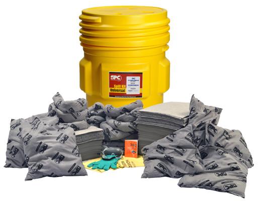 Brady® 65 gal Drum Allwik® Lab Pack Absorbent Spill Kit