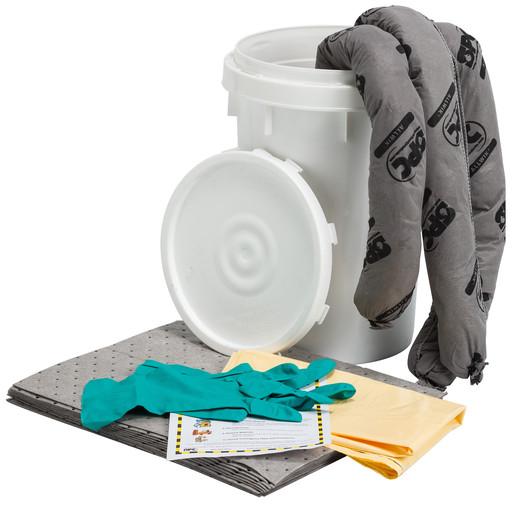 Brady® 6.5 gal Bucket SPC™ Allwik® Spill Kit