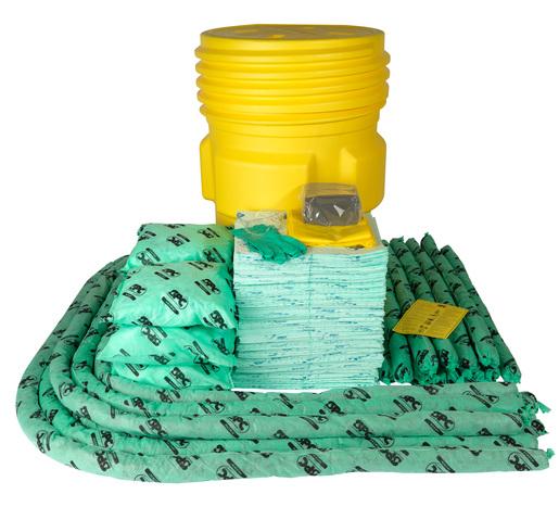 Brady® 95 gal Drum SPC™ Hazwik® Overpack Spill Kit