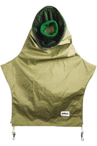 """Bullard® 28"""" Nylon Tan Blasting Respirator Cape"""