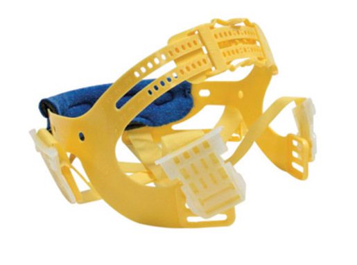 Bullard® Yellow Seamless Woven Nylon Pinlock® Replacement 6 Point Suspension With Brow Pad For Use With C30, C33 And C34 Classic Series Hard Hats