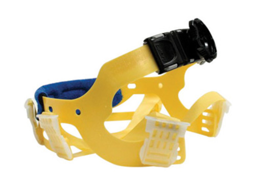 Bullard® Yellow Seamless Woven Nylon Flex-Gear® Replacement 6 Point Ratchet Suspension With Brow Pad For Use With C30, C33 And C34 Classic Series Hard Hats