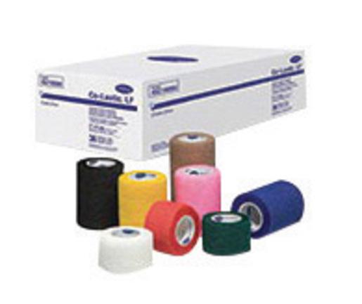 "Hartmann-Conco 1 1/2"" X 5 Yard Tan Co-Lastic® LF Latex-Free Elastic Self-Adherent Bandage (48 Per Case)"