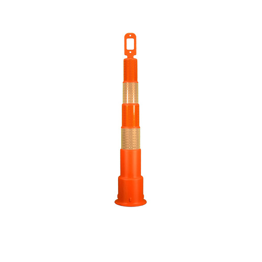 "Cortina Safety Products Group 42"" Orange Channelizer Cone With 4 6"" Hi-Intensity Reflective Stripes"