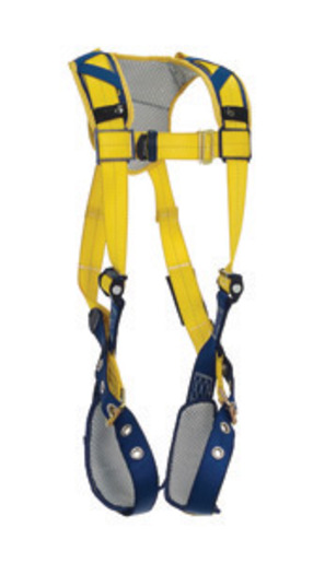 DBI/SALA® Large Delta™ Vest Style Harness With Back D-Ring