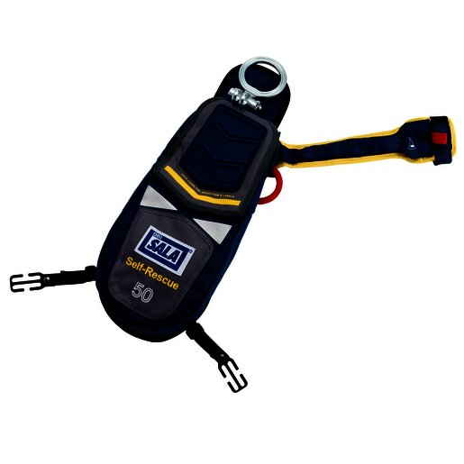 DBI-SALA® 50' Self-Rescue Device With EZ-Link™ D-ring And Secondary Rescue Ring