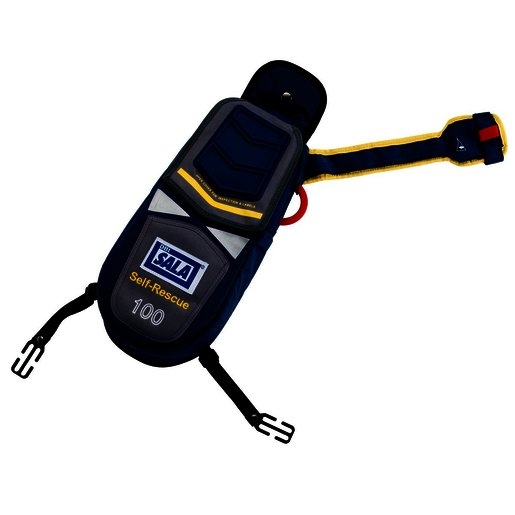DBI-SALA® 100' Self-Rescue Device With EZ-Link™ D-ring And Secondary Rescue Ring
