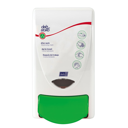 Deb Group 1 Liter Dispenser Deb Stoko Restore 1000 Moisturizing and Conditioning Cream (15 Per Case)
