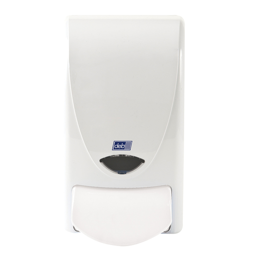 Deb Group 1 Liter Dispenser White Proline Curve 1000 Foam Soap (15 Per Case)