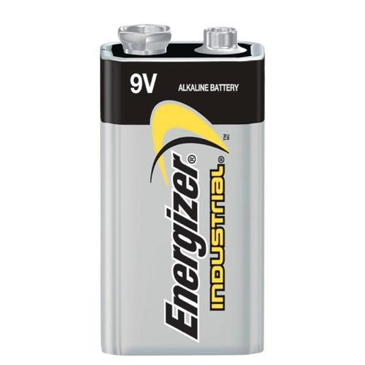 Energizer® Eveready® 9 Volt Alkaline Battery With Miniature Snap Terminal (Bulk)