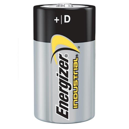 Energizer® Eveready® 1.5 Volt D General Purpose Alkaline Battery With Flat Contact Terminal (Bulk)