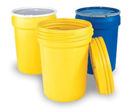 """Eagle Haz-Mat 30 Gallon Polyethylene Containment Lab Pack With Screw Lid 21 1/8"""" X 28 1/2"""""""