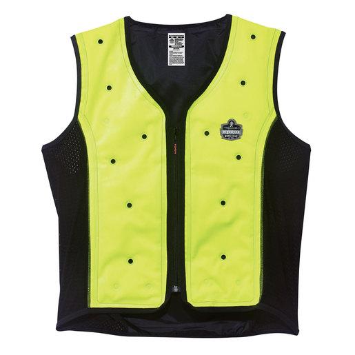 Ergodyne 2X - Large Hi-Viz Lime Green Chill-Its® 6685 Evaporative Cooling Vest