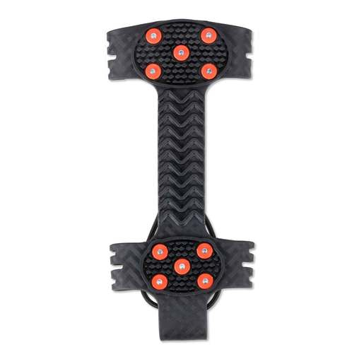 Ergodyne Size 8-11 TREX™ 6310 Black Large Stretchable Rubber Adjustable One-Piece Ice Traction Device For Shoes And Boots