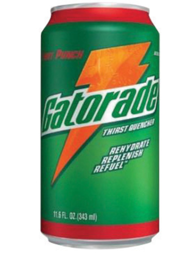 Gatorade® 11.6 Ounce Ready To Drink Can Orange Electrolyte Drink (24 Cans Per Case)