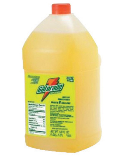 Gatorade® 1 Gallon Liquid Concentrate Bottle Lemon Lime Electrolyte Drink - Yields 6 Gallons (4 Each Per Case)