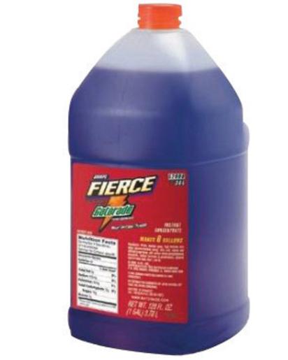 Gatorade® 1 Gallon Liquid Concentrate Bottle Fierce Grape Electrolyte Drink - Yields 6 Gallons (4 Each Per Case)