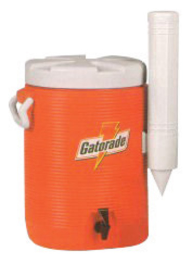Gatorade® 5 Gallon Orange And White Dispenser Cooler With Fast Flow Faucet And Handles